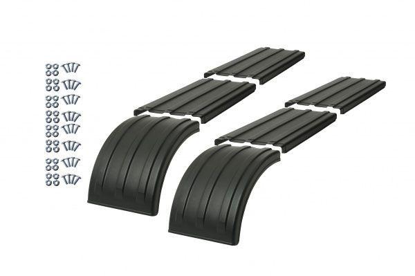 Half Tri Axle Fenders : Truck fenders quarter single axle tandem tri